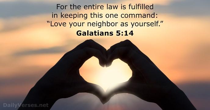 Keep my commandments